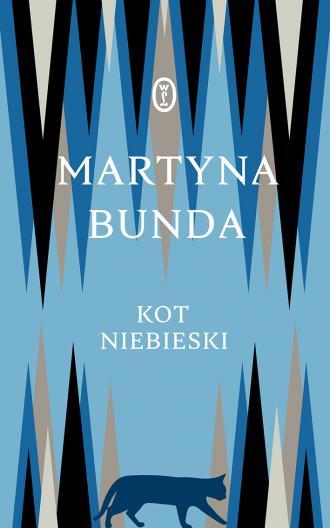 Kot niebieski - okładka książki