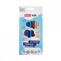 Kredki trójkątne 12 kolorów - zdjęcie produktu