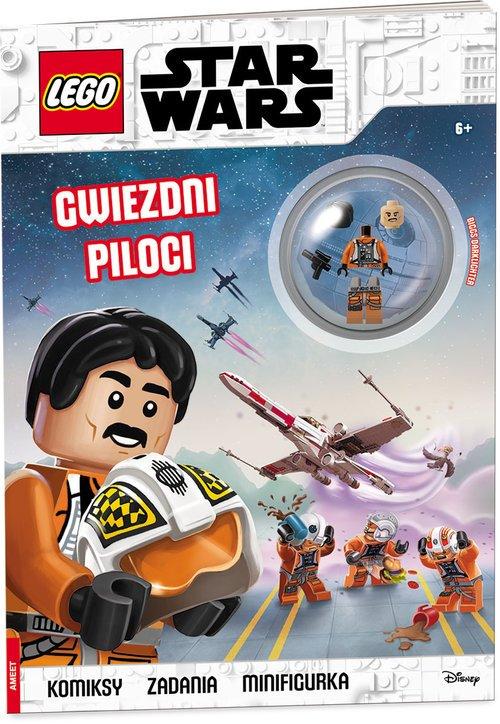 Lego Star Wars. Gwiezdni piloci - okładka książki