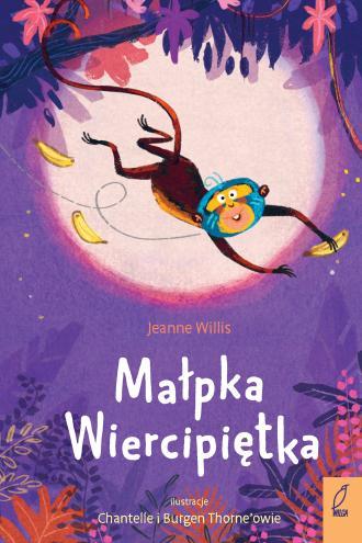 Małpka Wiercipiętka - okładka książki