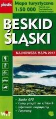Mapa turystyczna Beskid Śląski - okładka książki