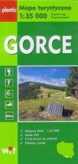 Mapa turystyczna Gorce 1:35 000 - okładka książki