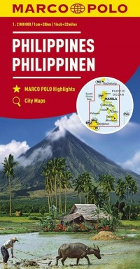 Mapy kontynentalne Filipiny 1:2 - okładka książki