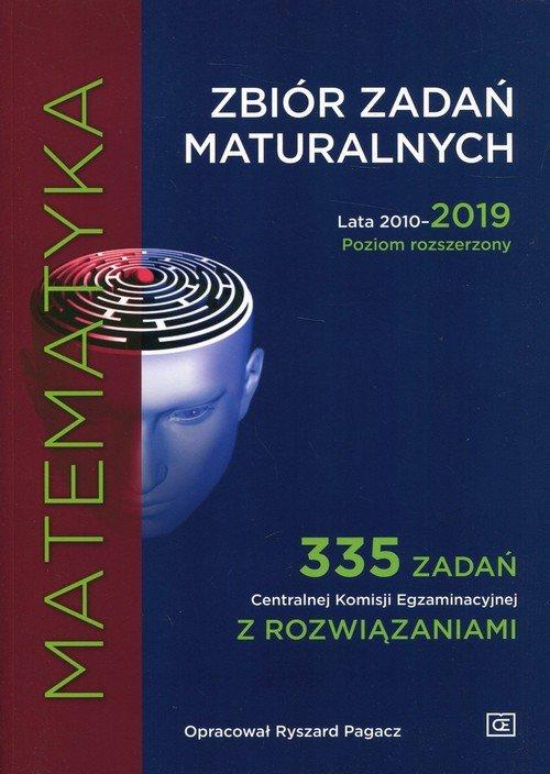 Matematyka Zbiór zadań maturalnych - okładka podręcznika