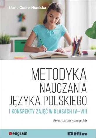 Metodyka nauczania języka polskiego - okładka książki