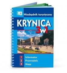 Niezbędnik turystyczny Krynica - okładka książki