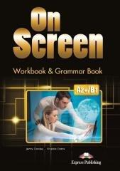 On Screen A2+/B1 WB&Grammar Book - okładka podręcznika