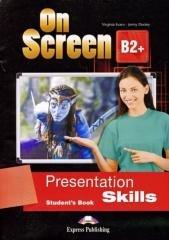 On Screen B2+ Presentation skills - okładka podręcznika