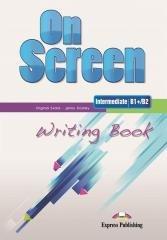 On Screen Intermediate B1+/B2 Writing - okładka podręcznika