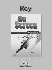 On Screen Upper-Inter. B2+ Writing - okładka podręcznika