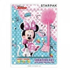 Pamiętnik z długopisem Minnie - zdjęcie zabawki, gry