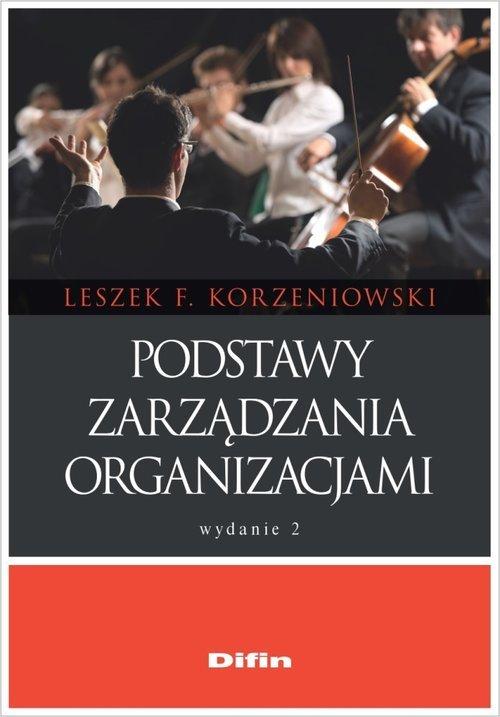 Podstawy zarządzania organizacjami - okładka książki