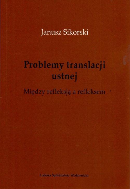 Problemy translacji ustnej. Między - okładka książki
