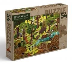Puzzle 54 - Leśna kraina - zdjęcie zabawki, gry