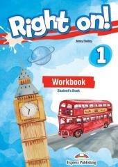 Right On! 1 WB + DigiBook - okładka podręcznika