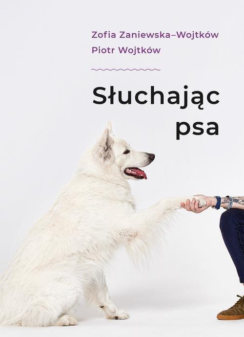 Słuchając psa - okładka książki