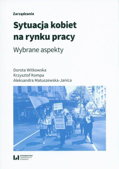 Sytuacja kobiet na rynku pracy. - okładka książki