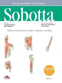 Tablice anatomiczne mięśni, stawów - okładka książki