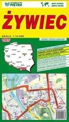 Żywiec 1:15 500 plan miasta - okładka książki