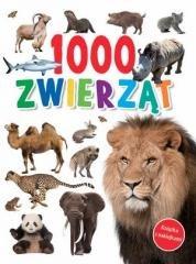 1000 zwierząt - okładka książki