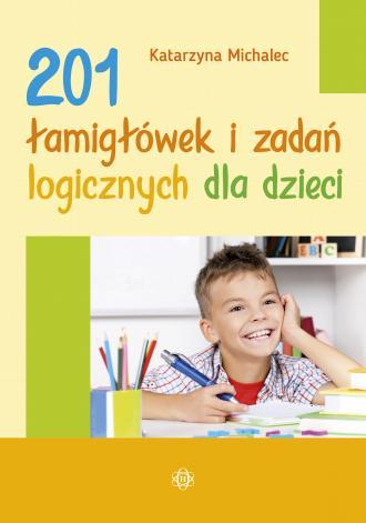 201 łamigłówek i zadań logicznych - okładka książki