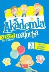 Akademia malucha. 3-latek bawi - okładka książki