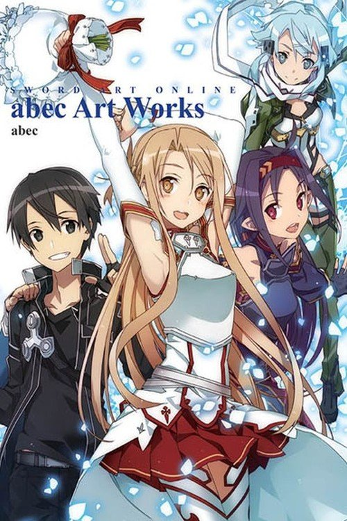 Artbook Sword Art Online - okładka książki