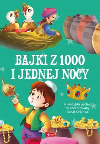 Bajki 1000 i jednej nocy - okładka książki