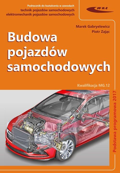 Budowa pojazdów samochodowych - okładka podręcznika