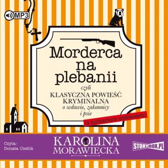 Morderca na plebanii (CD mp3) - pudełko audiobooku