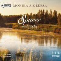 Spacer nad rzeką (CD mp3) - pudełko audiobooku