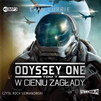 W cieniu zagłady. Odyssey One. - pudełko audiobooku
