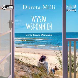 Wyspa wspomnień (CD mp3) - pudełko audiobooku