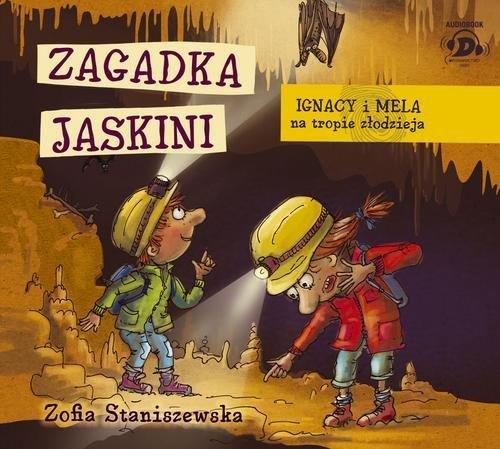 Zagadka jaskini. Ignacy i Mela - pudełko audiobooku