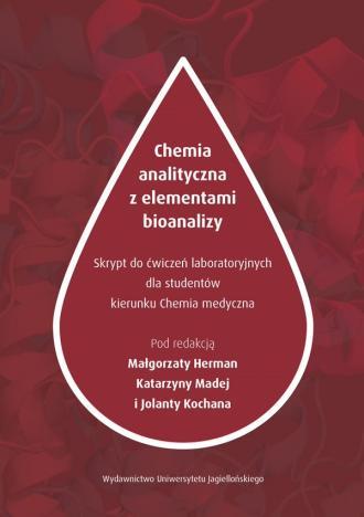 Chemia analityczna z elementami - okładka książki