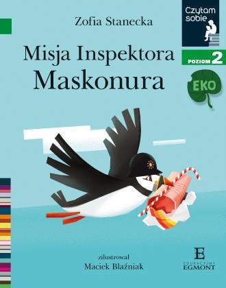 Czytam sobie Eko. Misja inspektora - okładka książki