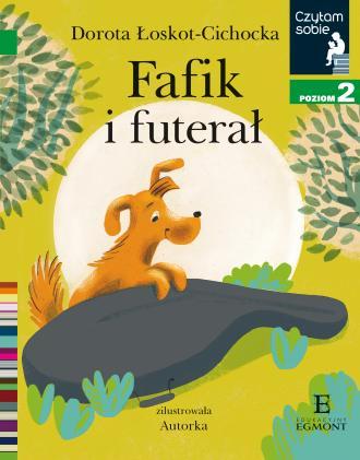 Czytam sobie. Fafik i futerał. - okładka książki