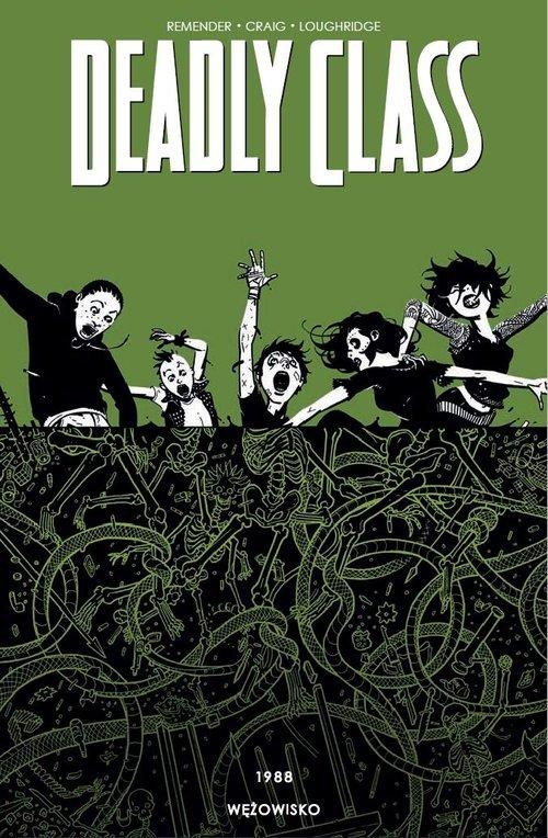 Deadly Class - okładka książki