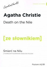 Death on the Nile z podręcznym - okładka podręcznika