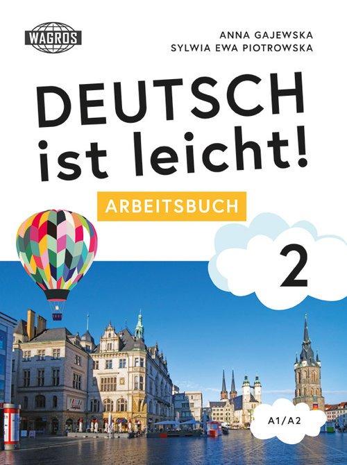 Deutsch ist leicht Arbeitsbuch - okładka podręcznika