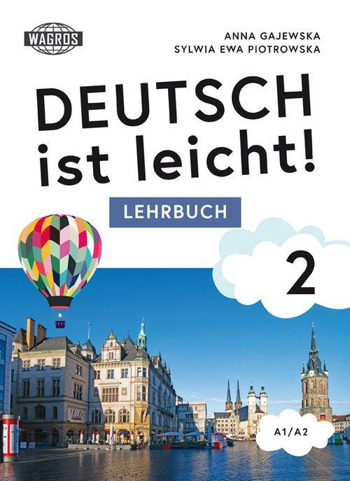 Deutsch ist leicht. Lehrbuch 2 - okładka podręcznika