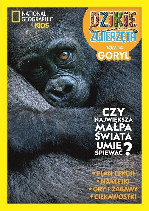 Dzikie Zwierzęta 14. Goryl - okładka książki