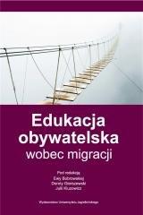 Edukacja obywatelska wobec migracji - okładka książki