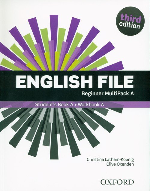 English File 3E Beginner Multipack - okładka podręcznika