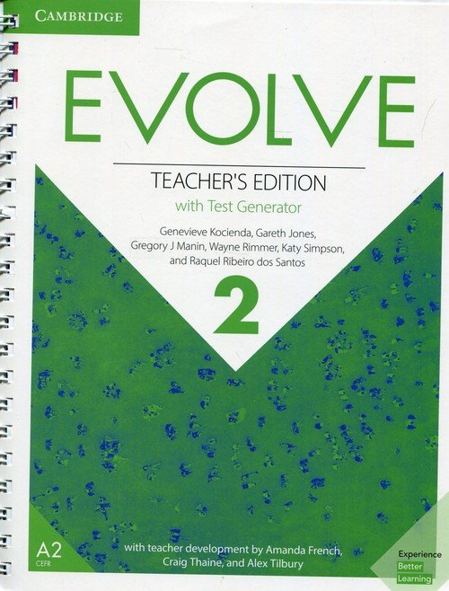 Evolve Level 2 Teachers Edition - okładka podręcznika