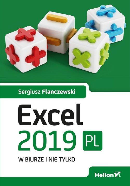 Excel 2019 PL w biurze i nie tylko - okładka książki