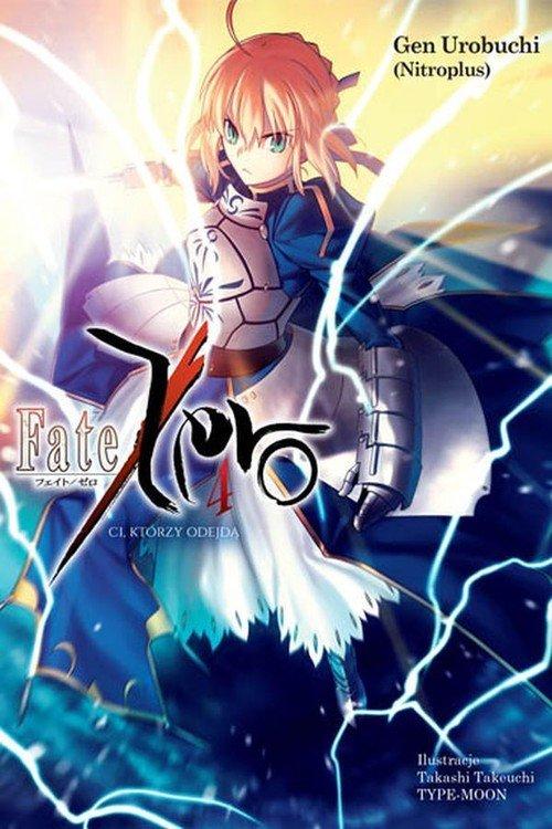 Fate/Zero #04 - okładka książki