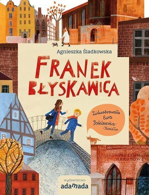 Franek Błyskawica - okładka książki