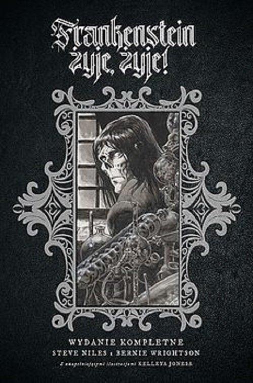 Frankenstein żyje, żyje! - okładka książki