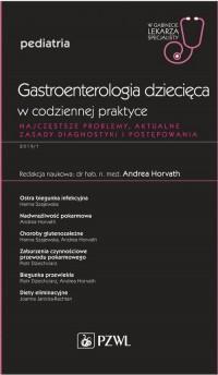 Gastroenterologia dziecięca w codziennej - okładka książki